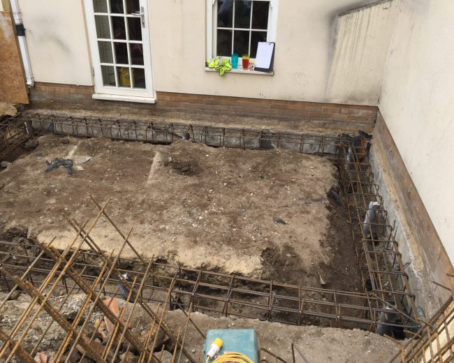 piled extension foundations