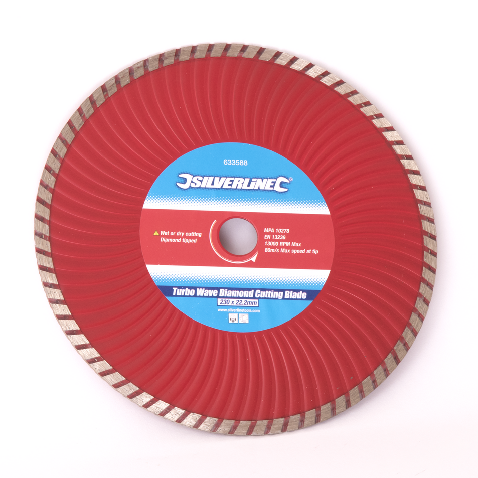 slot cutting disc