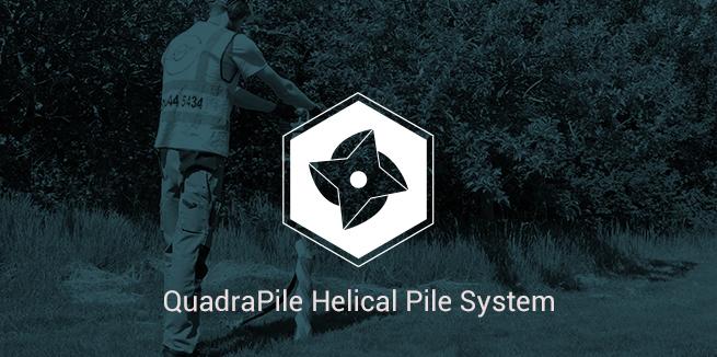 QuadraPile Helical Pile System