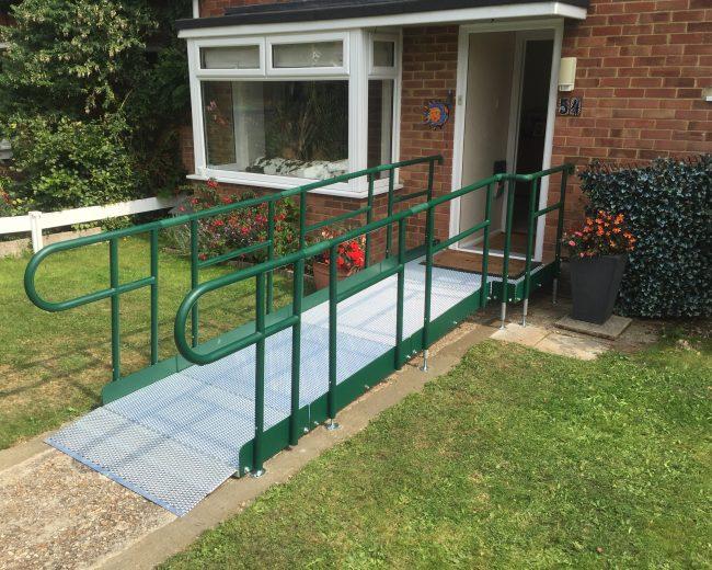 easiaccess ramp to front door