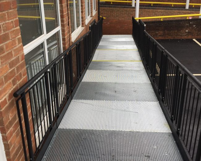 easiaccess ramp for a hospital